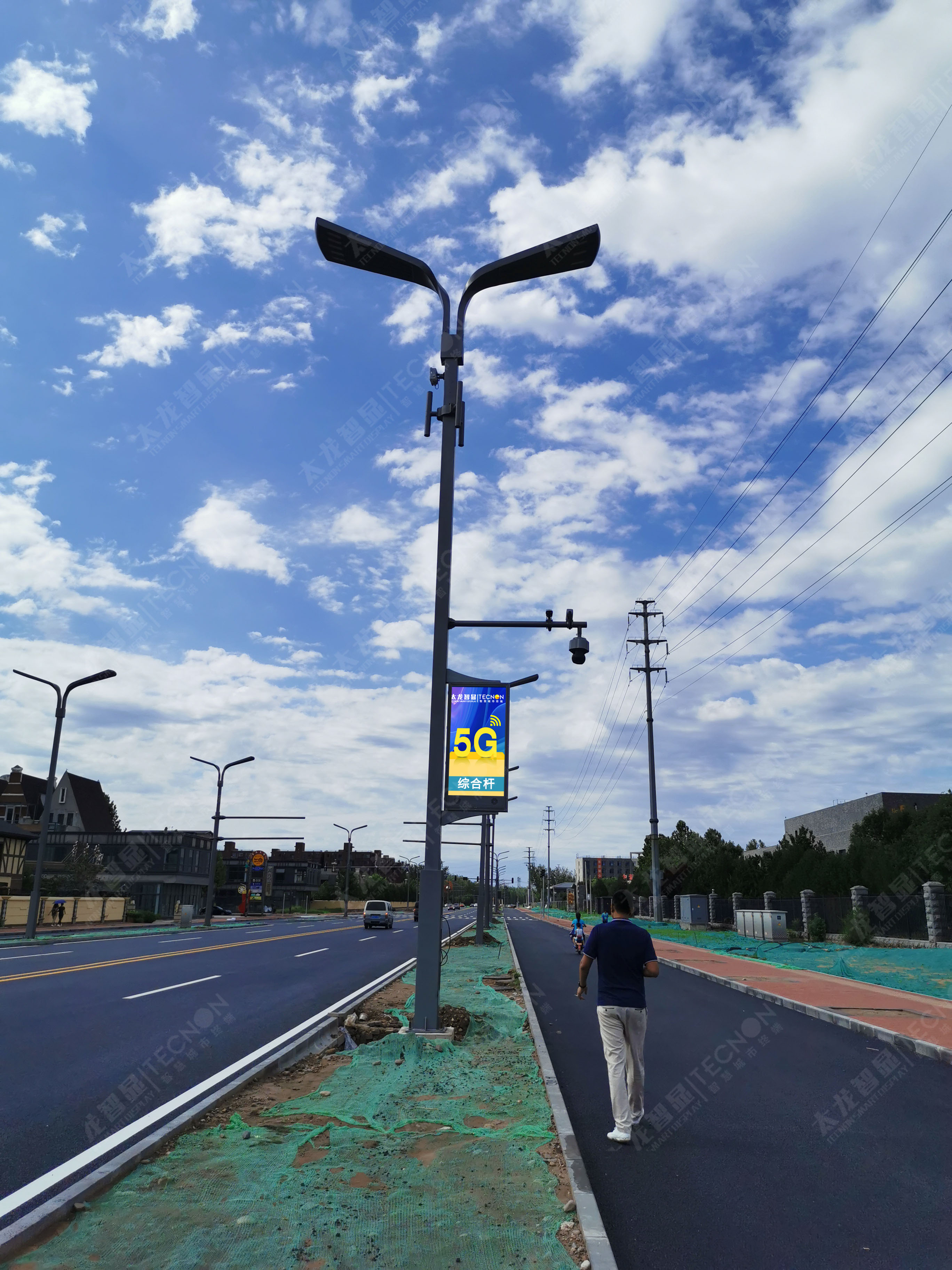 智慧路灯释放城市空间资源 - 2021广州国际照明展览会(光亚展)